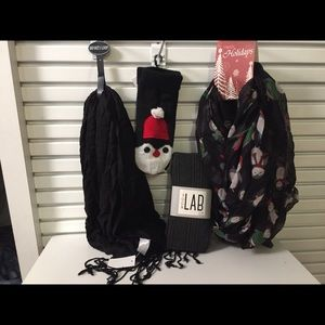 Accessories - Tights scarfs and mitten bundle